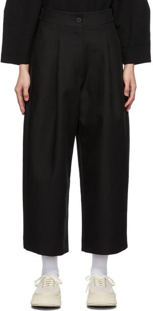 Studio Nicholson Black Fellini Trousers