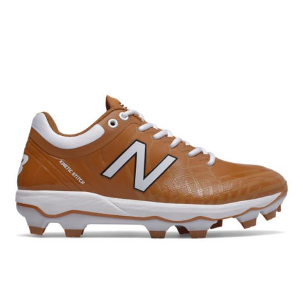 New Balance 4040v5 TPU Men's Cleats and Turf Shoes - Orange/White (PL4040L5)