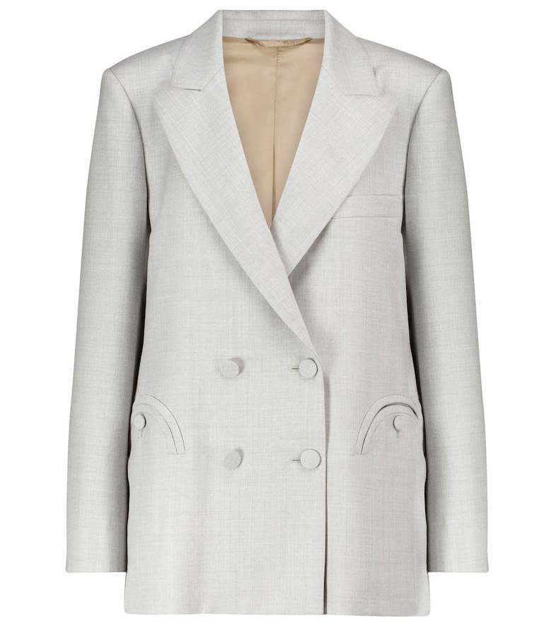 Blazé Milano Everyday wool blazer in grey