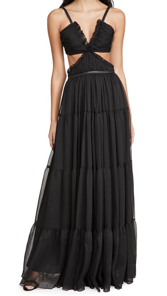 Alexis Biharie Gown in black