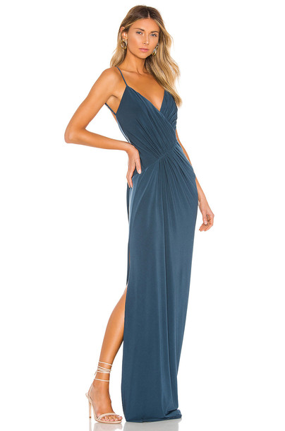 Katie May Making Moves Gown in blue