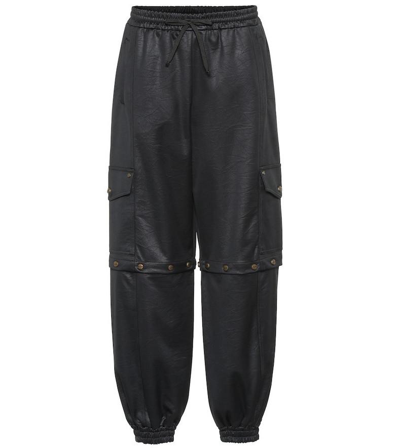 Gucci Satin-jersey trackpants