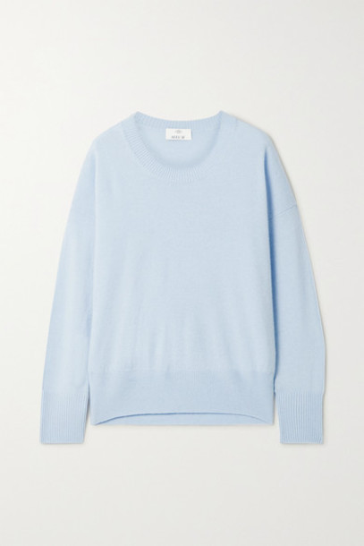 Allude - Cashmere Sweater - Blue