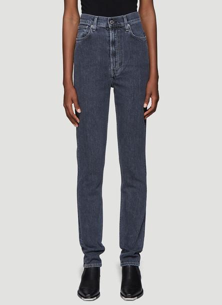 Helmut Lang Femme Hi Spikes Jeans in Black size 25