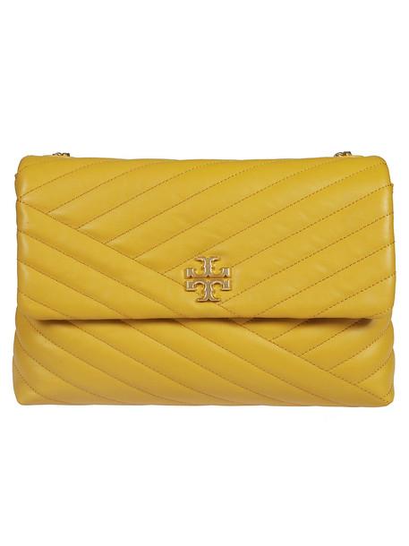 Tory Burch Kira Chevron Shoulder Bag in yellow