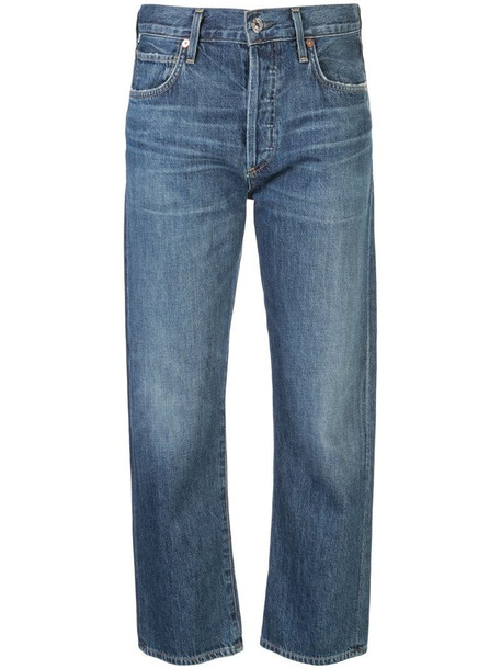 Citizens of Humanity Emery denim straight leg jeans in blue