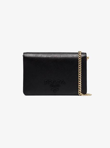 Prada chain strap min bag in black