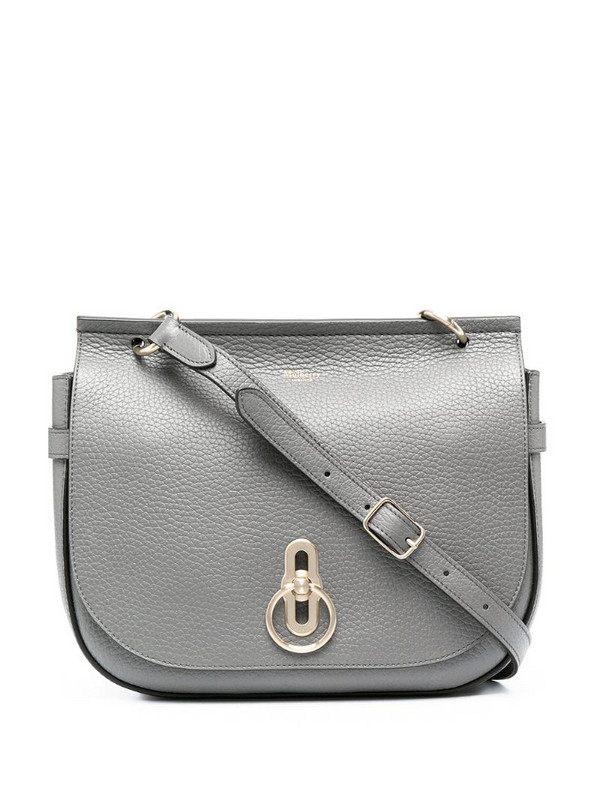 Mulberry Amberley leather satchel in grey