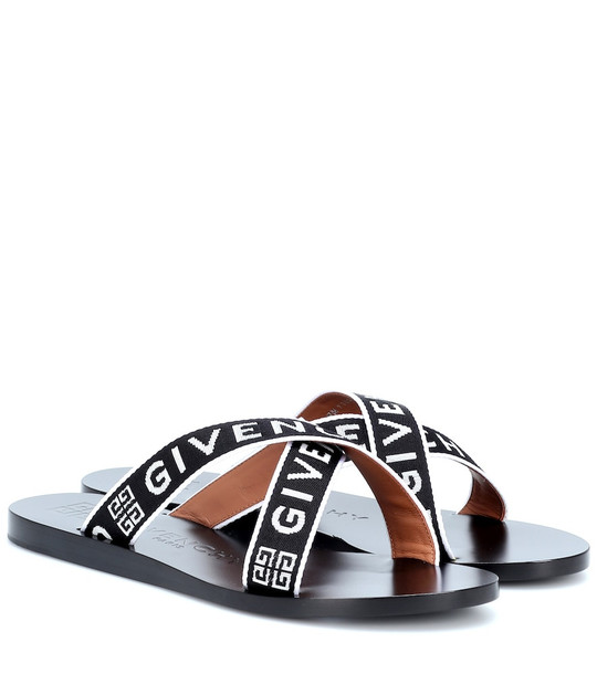 Givenchy Logo sandals in black