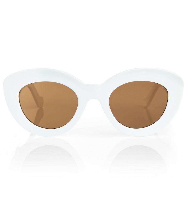 LOEWE Anagram cat-eye sunglasses in white