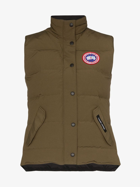 Canada Goose Freestyle padded vest in green