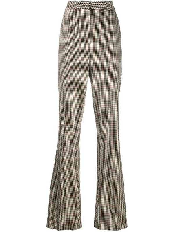 Manuel Ritz check print trousers in neutrals