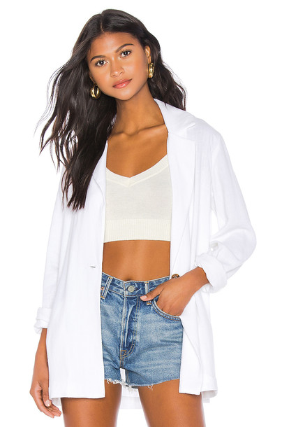 Show Me Your Mumu Artemis Blazer in white