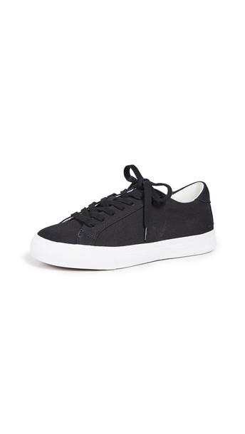Madewell Sidewalk Low Top Sneakers in black