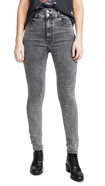 J Brand x Elsa Hosk Saturday Jeans in black