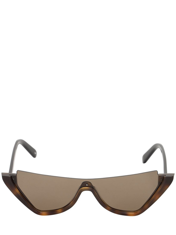 COURREGES Mask Mask Acetate Cat Eye Sunglasses