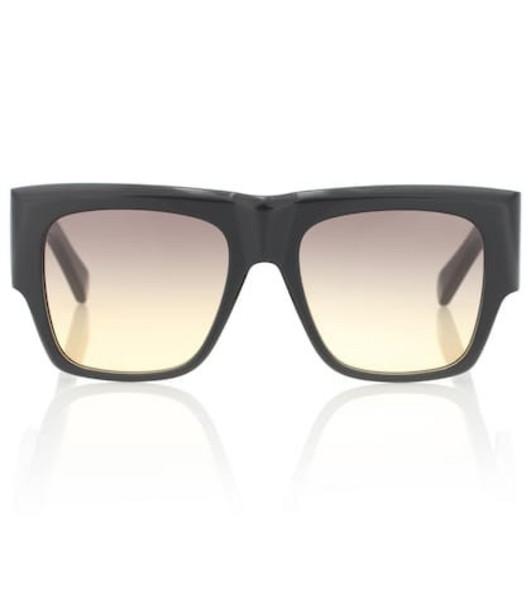 Celine Eyewear Rectangular acetate sunglasses in black