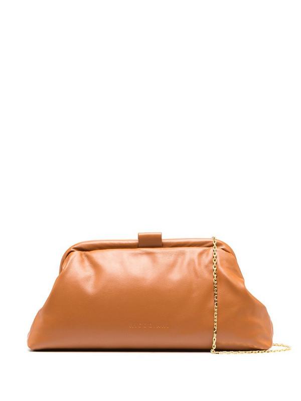 Nico Giani Zoe mini baguette clutch in brown