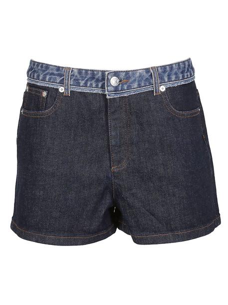 A.P.C. A.p.c. Paneled Denim Skirt