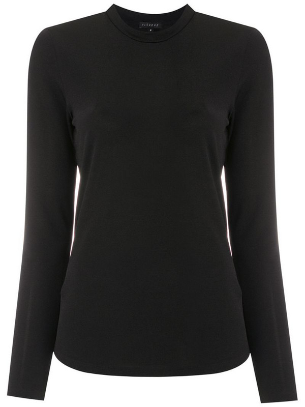 Alcaçuz Roy basic blouse in black