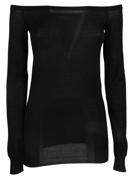 Stella McCartney Pullover Bardot in black