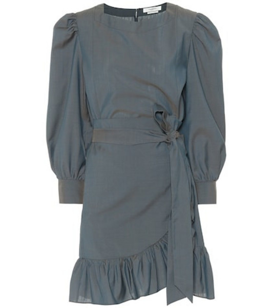 Isabel Marant, Étoile Nelicia wool minidress in grey