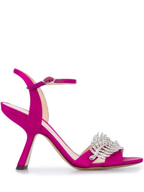 Nicholas Kirkwood MONSTERA sandals 90mm in pink