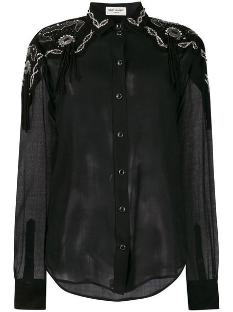 Saint Laurent Shirt in black