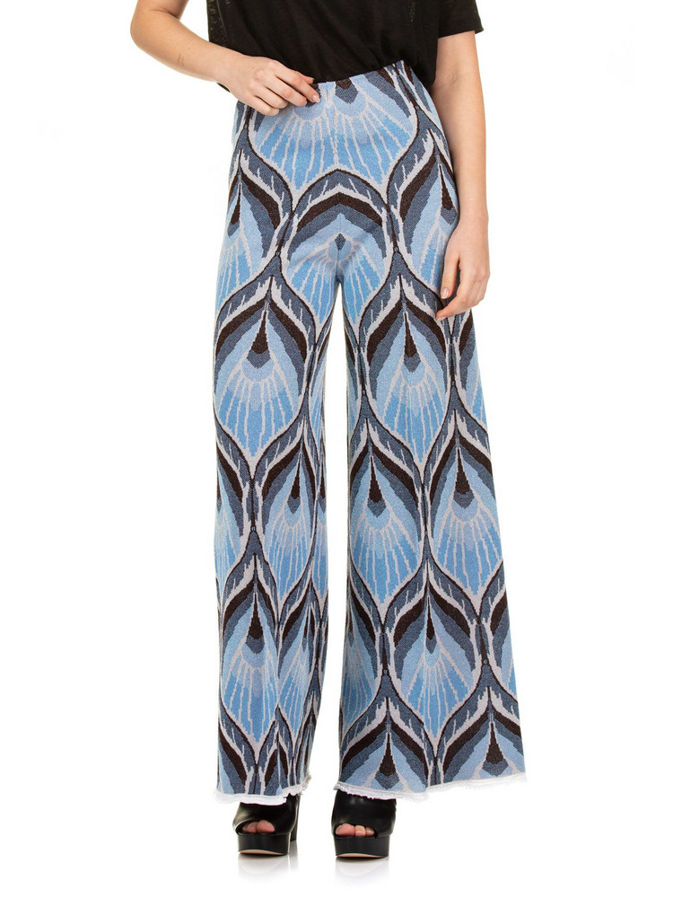 Circus Hotel L Leg Pants in blue