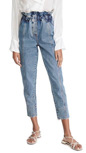 Philosophy di Lorenzo Serafini Ankle Length Jeans in blue