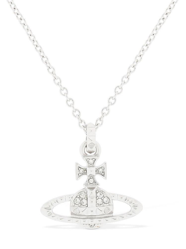 VIVIENNE WESTWOOD Mayfair Orbit Pendant Necklace in silver