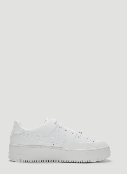 Nike Air Force 1 Sage Low Sneakers in White size US - 09.5
