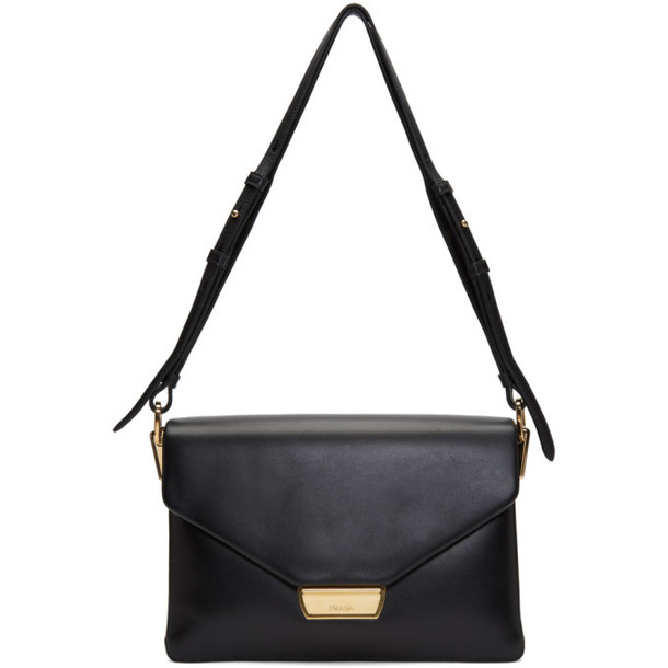 Prada Black Calfskin Hardware Shoulder Bag