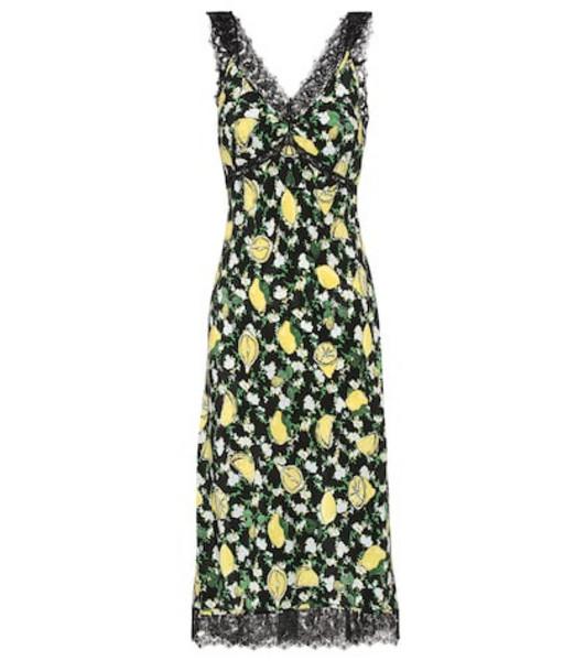 Diane von Furstenberg Issey silk midi dress
