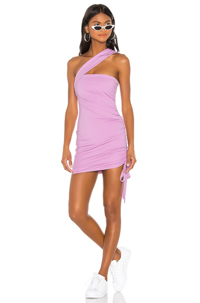h:ours Solange Dress in lavender
