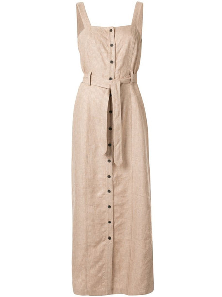 Mara Hoffman Serena dress in brown