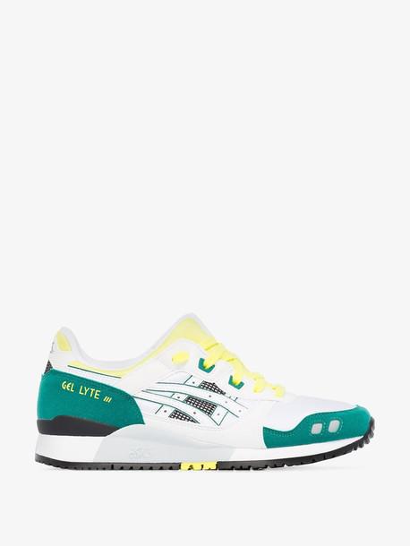 Asics Green Gel Lyte III OG low-top sneakers