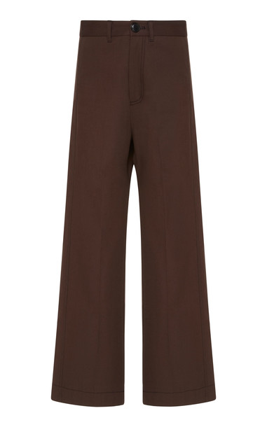 Sea Stevie Cotton Sailor Pant Size: 00 in brown