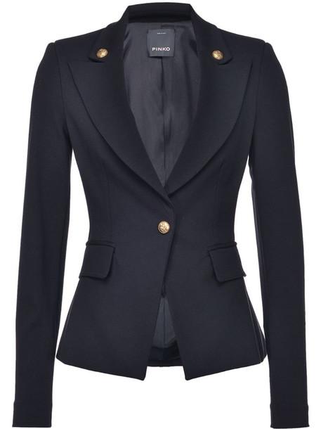 Pinko fitted blazer in black