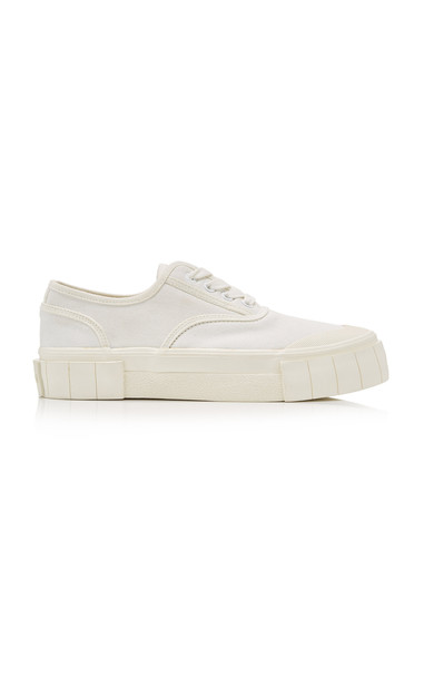 Good News Bagger Low Top Sneakers in white