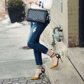 shoes,ankle strap pumps,pointed toe,stilleto heels,yellow and grey,suede,fashion