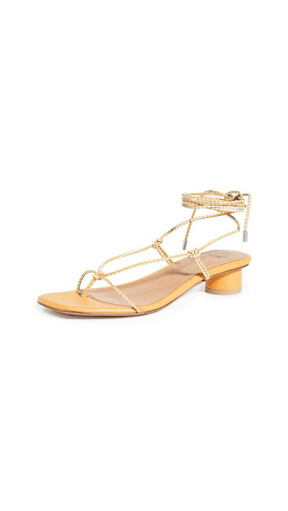 LOQ Dora Lace Up Sandals in multi