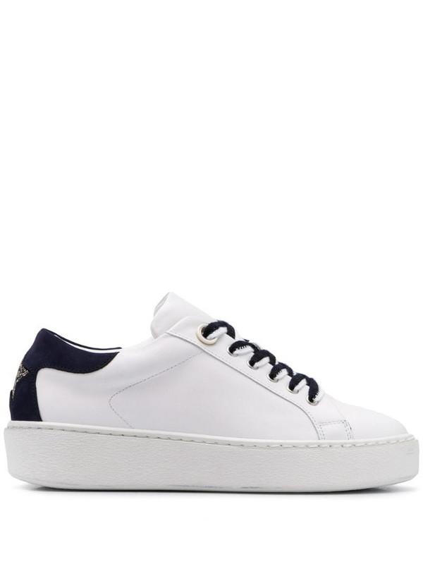 Lorena Antoniazzi low-top sneakers in white