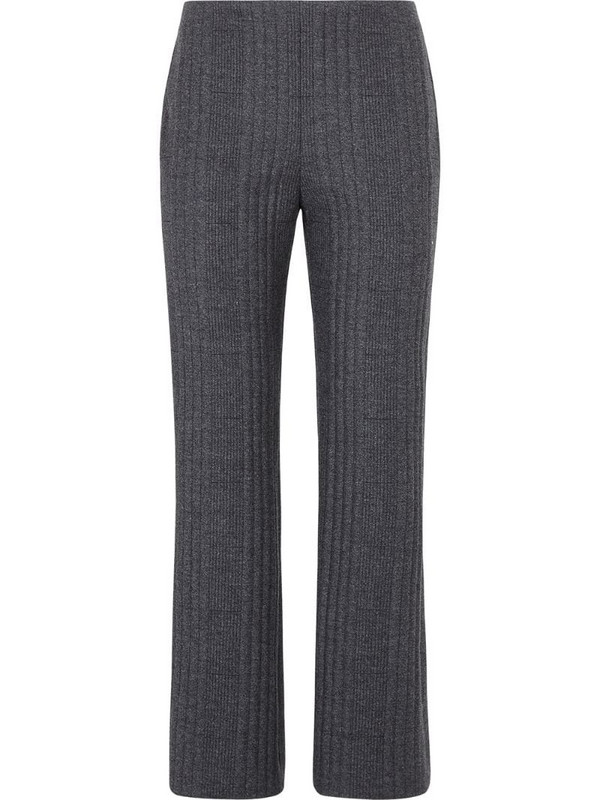 Fendi knitted trousers in grey