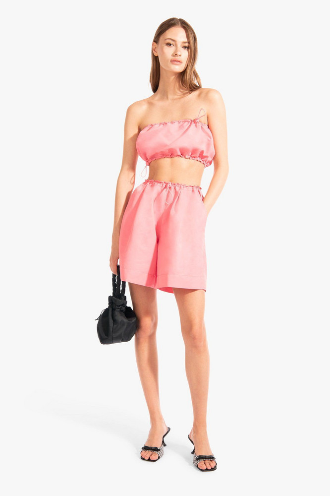 Staud GIGI TOP | GRAPEFRUIT
