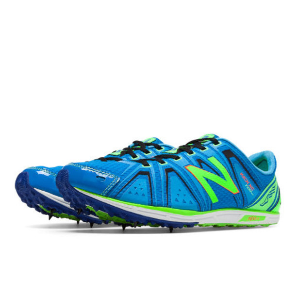 New Balance XC700v3 Spike Men's Cross Country Shoes - Green/Blue (MXC700YS)