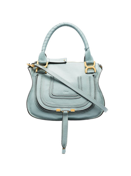 Chloé Marcie shoulder bag in blue
