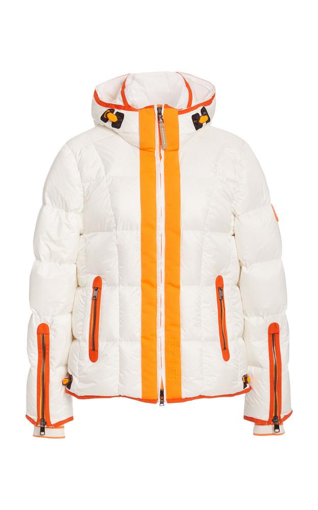Bogner Gracia Hooded Down Puffer Jacket in white