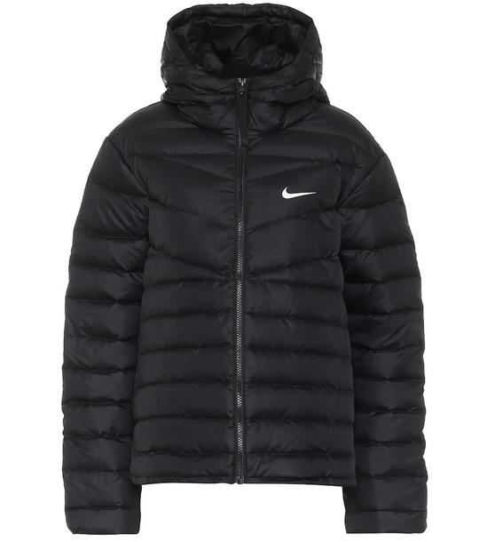 Nike Windrunner down jacket in black