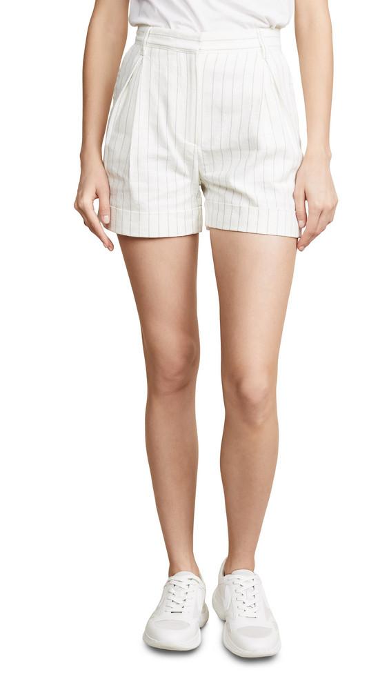 Philosophy di Lorenzo Serafini Trouser Shorts in white